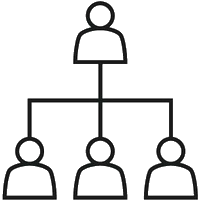Flache Hierarchien
